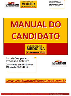 Capa Manual do Candidato